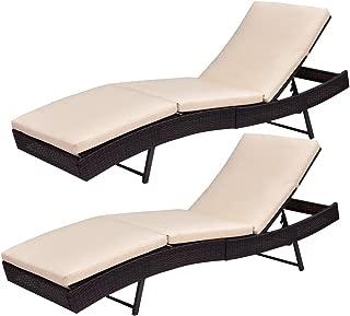 Best brown wicker sun lounger Reviews