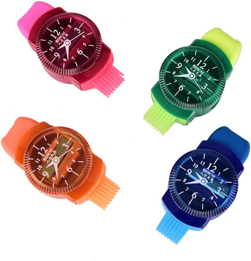 HJPOQZ Wristwatch Modeling Beauty products Pencil Sharpener Max 65% OFF with Eraser and Brus