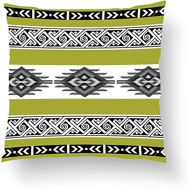 Zippered Pillow Covers Pillowcases One Side 26x26 Inch Pear Green Navajo Pillow Pillow Cases Cushion Cover For Home Sofa Bedding