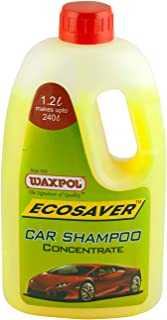 Waxpol Ecosaver Car Shampoo Concentrate - 1.2 L(for Bucket, Foam & Snow Foam Wash)
