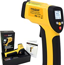 Temperature Gun by ennoLogic - Accurate High Temperature Dual Laser Infrared Thermometer -58°F to 1202°F - Digital Surface IR Thermometer eT650D - w/NIST Certificate