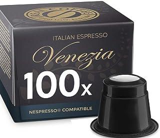 Venezia, 100 Capsules, Nespresso Compatible, by REAL COFFEE, Denmark