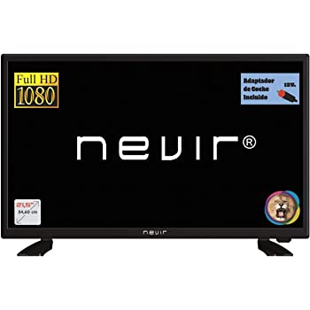 Nevir TV Led NVR-7708-22FHD2-N, 22 Pulgadas, Full HD, Adaptador ...
