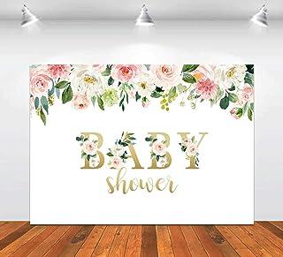 Baby Party Hintergrund für Fotografie, Party, Blumen, Dekoration, Studio Hintergrund, Foto Requisiten, 2,8 x 1,5 m Banner