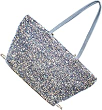 KESYOO Women Shoulder Bag Tote Bag Sequins PU Handbag Underarm Bags