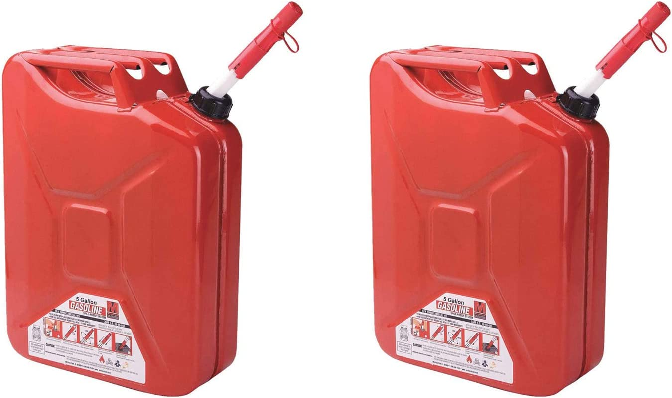 Midwest Can Company Finally popular brand 5-Gallon Durable Metal Quick Fl with Oklahoma City Mall Gas