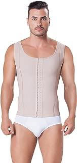 Fajitex Fajas Colombianas para Hombres Mens Girdle High Compression Garmen Shapewear Body Shaper for Men 026950 