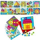LVHERO Mosaik Steckspiel für Kinder ab 2 Jahre