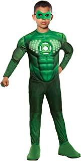 Green Lantern Teen Deluxe Hal Jordan Costume With Light Up Muscle Chest