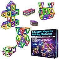 Desire Deluxe Magnetic Building Blocks 40pc Construction Toys Set for Kids Game   STEM Creativity Ed...