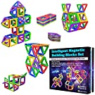 Desire Deluxe Magnetic Building Blocks 40pc Construction Toys Set for Kids Game   STEM Creativity Educational Magnets Toy Blocks for Boys Girls Age 3 4 5 6 7 Year Old