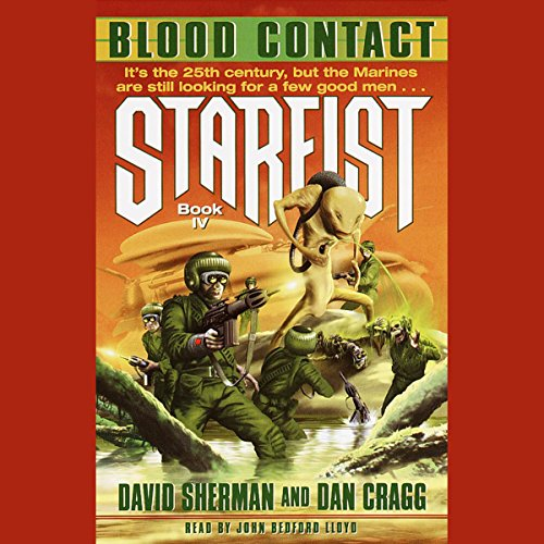 Blood Contact audiobook cover art
