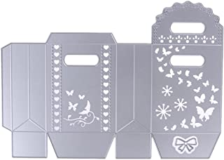 Scrapbooking Bowknot Candy Gift for Christmas Box Butteryfly Metal Cutting Dies Stencils