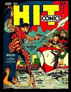 Hit Comics #1: Classic Golden Age Adventure Comic With Popular Lou Fine Art!