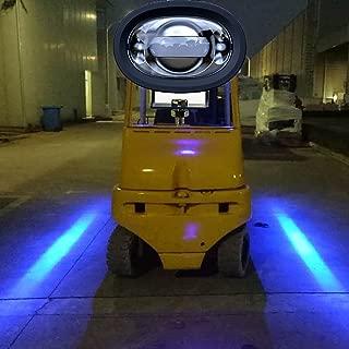 Fuguang LED Straight Linear Forklift Area Safety Light 8W Cree Blue Work Light Zone Risk Danger Area Warning Light Warehouse Forklift Truck Security Lndicator