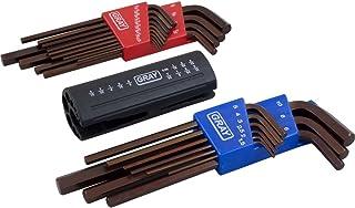 5//64-Inch-1//4-Inch Gray Tools 69959 9 Piece S2 SAE Long Folding Hex Key Set