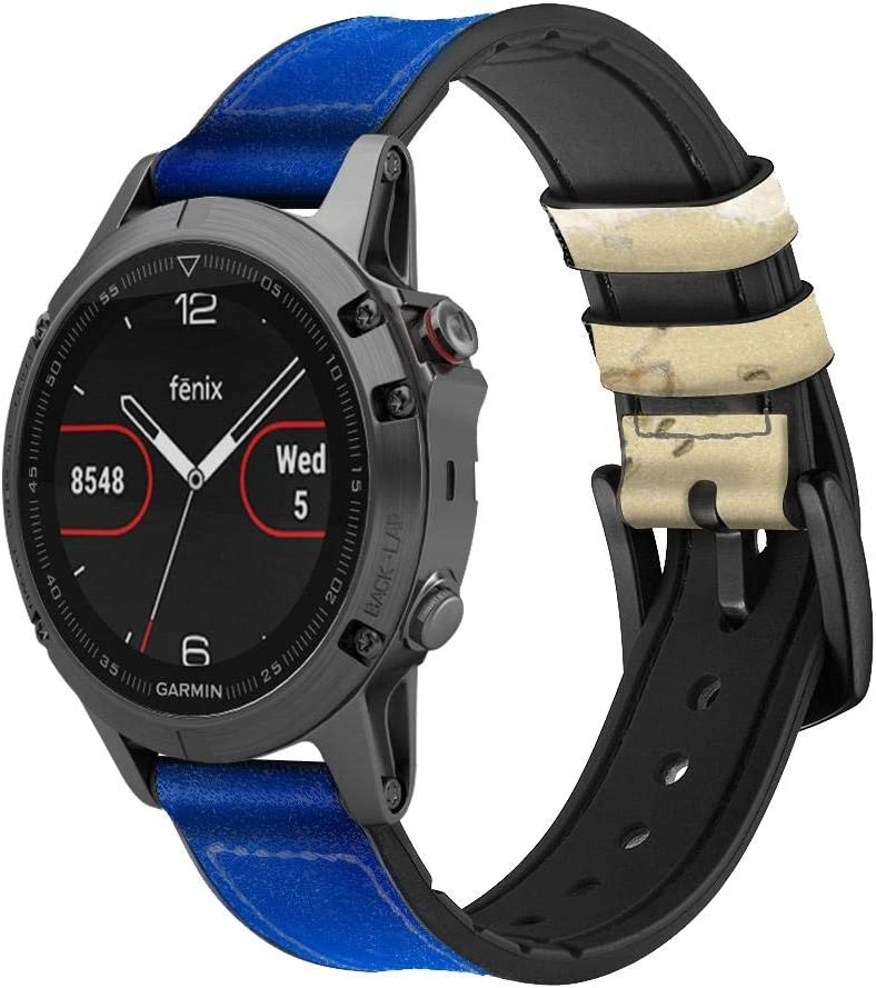 CA0123 Relax Beach Leather OFFicial Smart Watch New Shipping Free Shipping Band Garmin Viv Strap for
