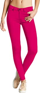 Hybrid Womens Hyper Ultra Stretch Comfy Skinny Pants, Capri, Bermuda