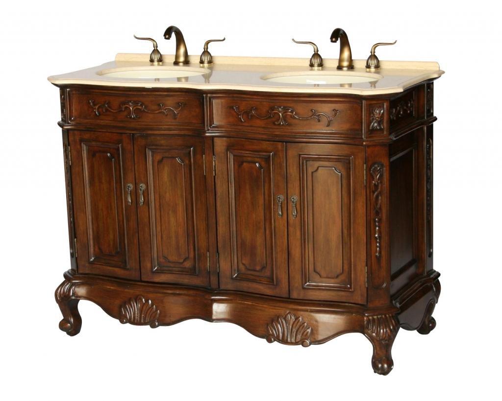 Chinese Arts Inc 50 Inch Antique Style Double Sink Bathroom Vanity Model 5000 Be Buy Online In Bermuda At Bermuda Desertcart Com Productid 208713423