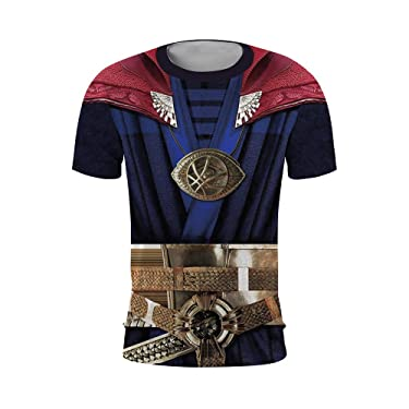 Super Hero Compression Sport T-Shirt Fitness Tee Gym Running Cycling Top