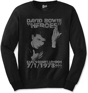 DAVID BOWIE デヴィッド・ボウイ (Space Oddity発売50周年記念) - HEROES COURT/長袖/Tシャツ/メンズ 【公式/オフィシャル】