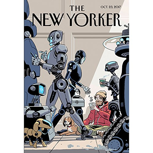 The New Yorker, October 23rd 2017 (Sheelah Kolhatkar, Ronan Farrow, Evan Osnons) cover art