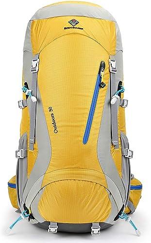 MDMMBB Sac à Dos extérieur Alpinisme équipe série Loisirs de Plein air Camping Sac de randonnée Mode Escalade Sac à Dos 50L Hommes et Femmes