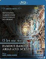 偉大なるアリア集:私を泣かせてください ~バロック時代のアリアと名シーン集[Blu-ray Disc]
