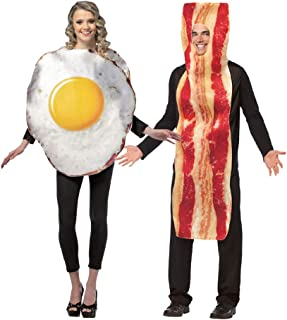 Adult Bacon and Eggs Costume Set
