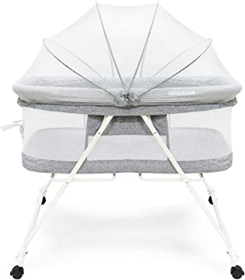 Amazon.com: Fundaciones 2351227 Sleep N Store Portable Crib ...
