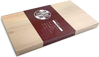 京都活具(Kyoto Katsugu) 調理用まな板 京都産ヒノキ 一枚板 36×21×2.5cm 日本製