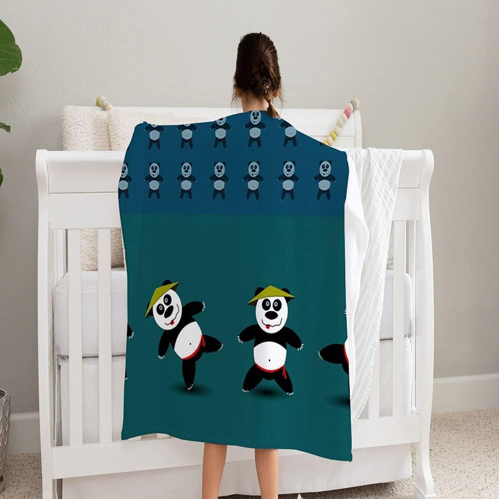 GANTEE Kung Fu Panda Super Soft overseas Perfect Blanket Fleece Recommendation Cozy and