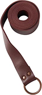 KOGOGO Medieval Knight Leather Belt Mens Reenactment Accessory
