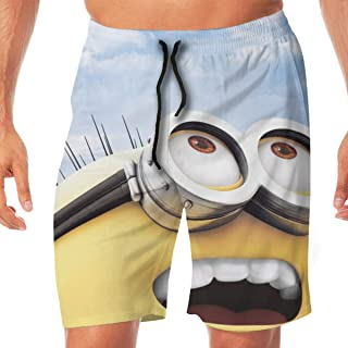 YGE.I.L25 Mens Workout Shorts Labor Day 22 Lightweight Beach Board Short for Men