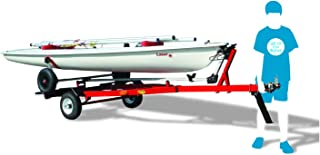 Right-On Dolly Trailer for Sunfish and Laser Sailboats