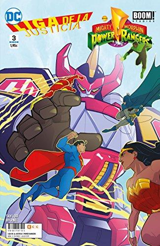 Liga de la Justicia/Power Rangers 3 (Liga de la Justicia/Power Rangers núm. 03)