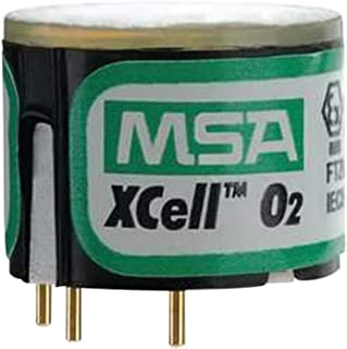 MSA (Mine Safety Appliances) 10106729 MSA Oxygen Sensor with Alarms @ 5%/24% VOL for Use with ALTAIR 4X/5X Multi-Gas Detector, Plastic, 1