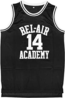 Micjersey Will Smith Jersey #14 The Fresh Prince of Bel Air Academy Basketball Jersey S-XXXL