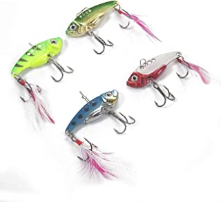OSLAMP Fishing Lures Set Hard Fish Baits Swimbaits Crankbait Topwater Lures for Saltwater Freshwater Bass Trout