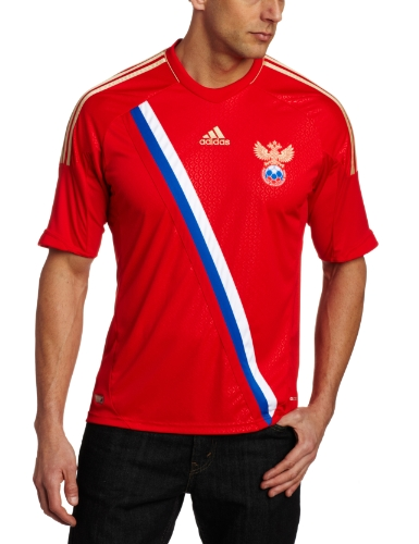 Russia Home Authentic Soccer Jersey, Large
