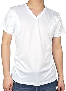 [クレール] CREAL 脇汗パッド付きシャツ(マイクロキュービック) 吸水速乾/抗菌防臭