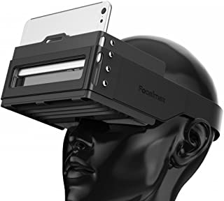 Headset VR Box, Focalmax 3D VR Box Foldable and Portable Light Design for 3D Movies and Games, Black Color