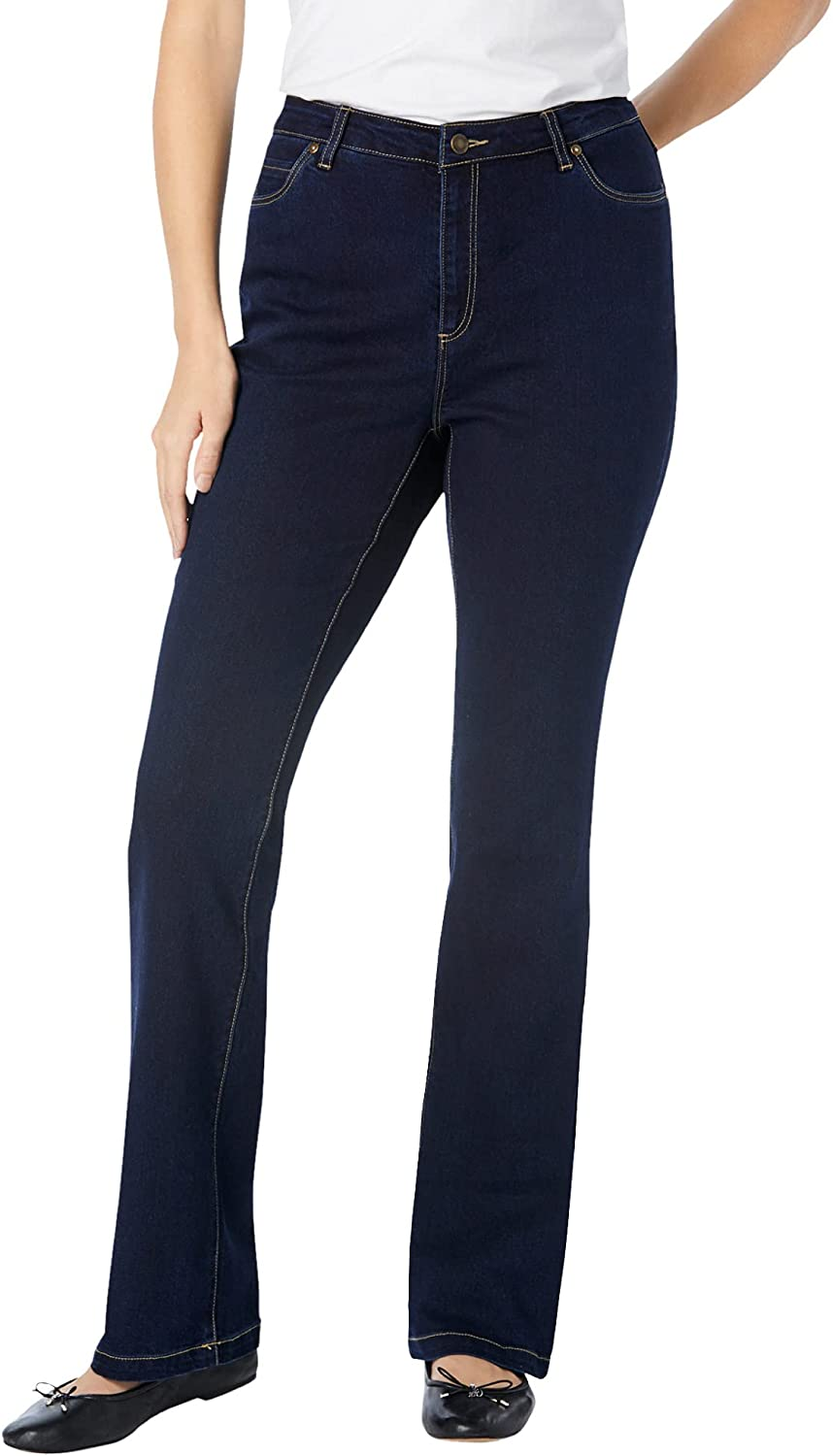 Woman Within Women's Plus Size Perfect Bootcut Jean