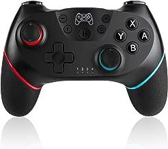 SADES Wireless Switch Pro Controller Gamepad Joypad Remote Joystick for Nintendo Switch Console(Black)