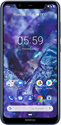 Nokia 5.1 Plus - Android 9.0 Pie - 32 GB - Dual SIM Unlocked Smartphone...