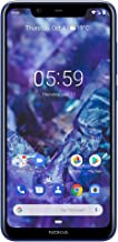 Nokia Mobile Nokia 5.1 Plus - Android 9.0 Pie - 32 GB - Dual Camera - Dual Sim Unlocked Smartphone (AT&T/T-Mobile/Metropcs/Cricket/Mint) - 5.86