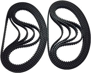 BEMONOC 2GT/GT2 Timing Belt 200-2GT-6 100 Teeth Rubber Drive Belt 200mm Length 6mm Width in Closed Loop for 3D Printer 10p...