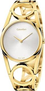 Calvin Klein Women's Analogue Quartz Watch with Stainless Steel Strap K5U2S546
