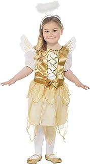Smiffys Angel Fairy Dress Girl Costume, Medium