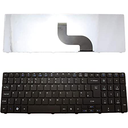 PK130C91107 UK Laptop Keyboard V104702AK3 AJParts New Replacement For Acer Aspire P//N